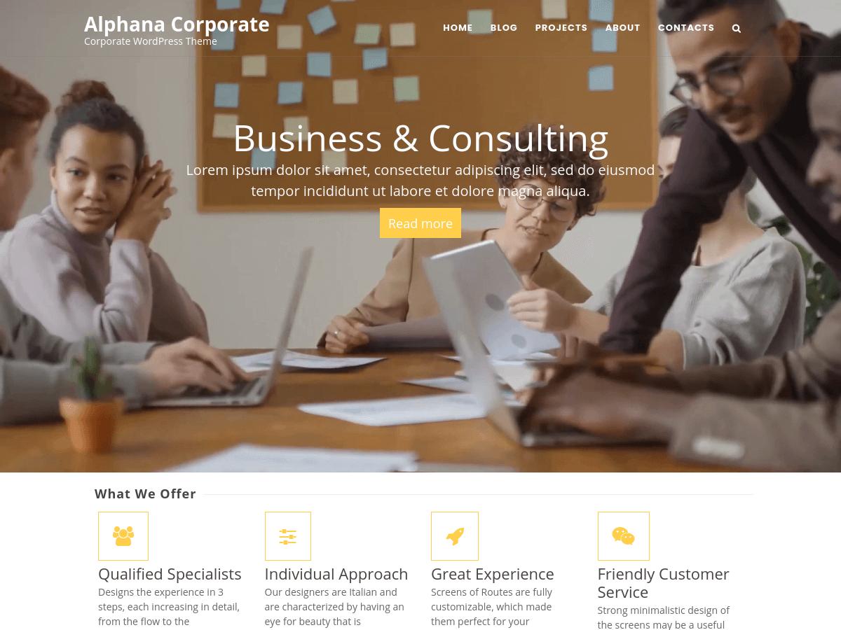 Alphana Corporate