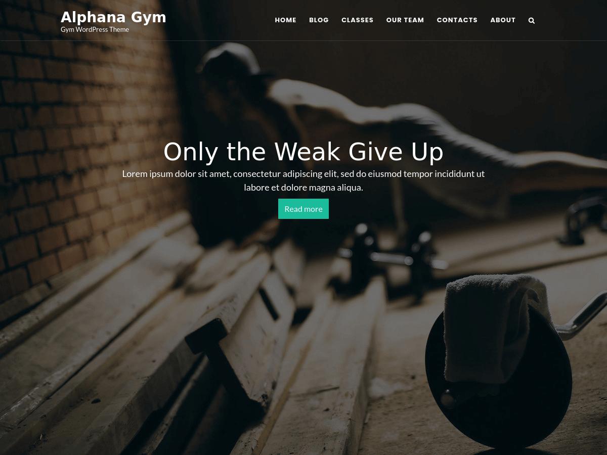 Alphana Gym