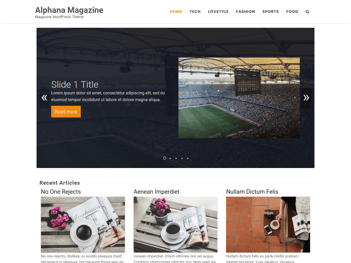 Alphana Magazine