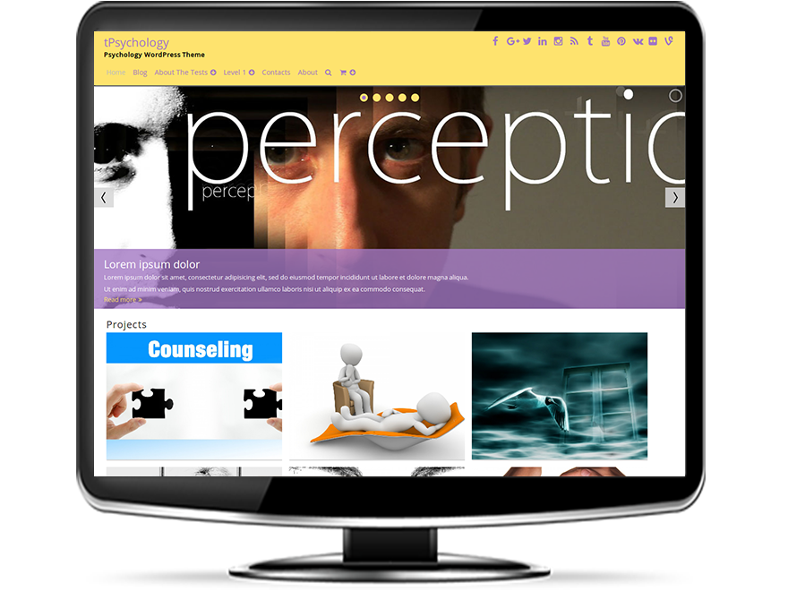 tPsychology - Psychology WordPress Theme