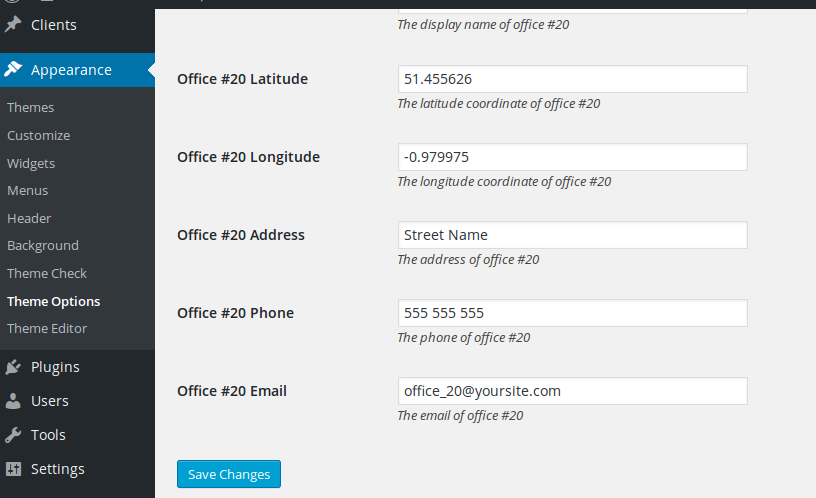 offices contacts
