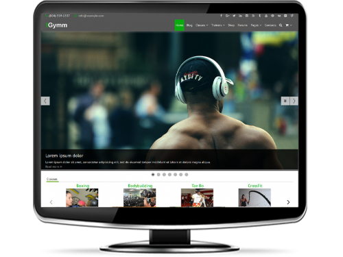 tGymm - Responsive Gym WordPress Theme