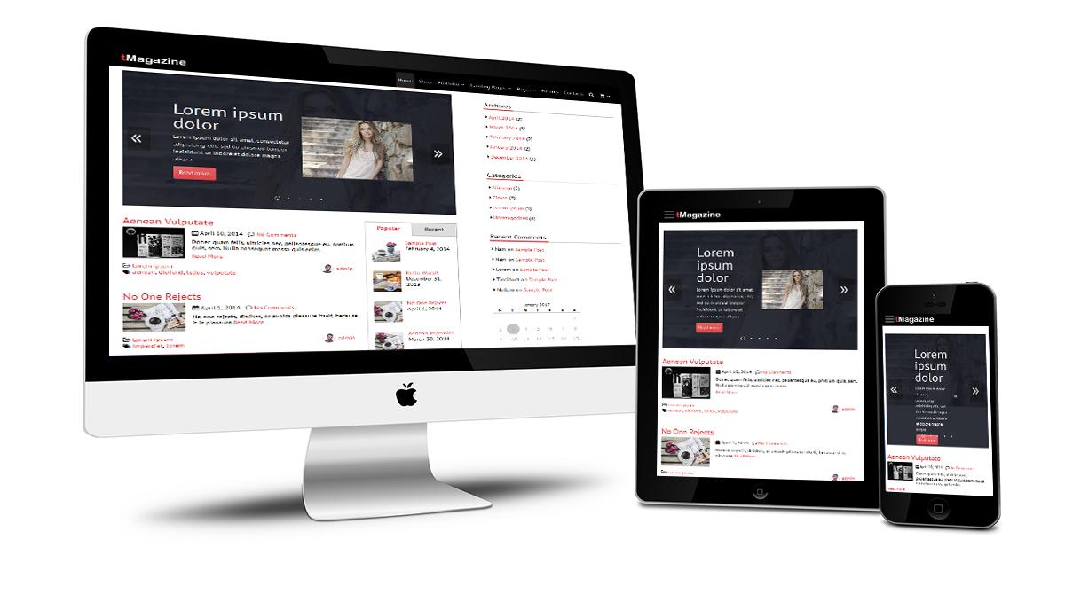 tMagazine Responsive Design