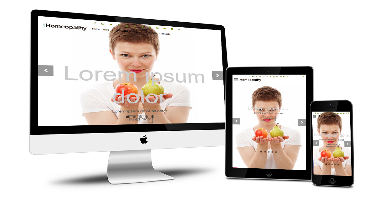 tHomeopathy Responsive Design