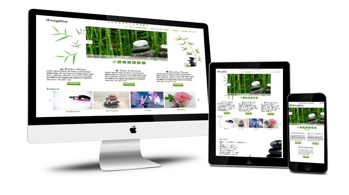 tFengShui Responsive Design
