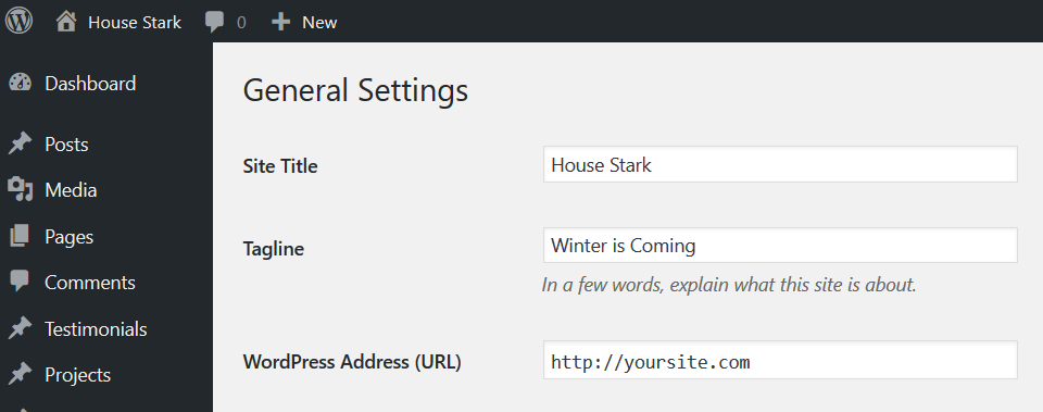 house stark wordpress