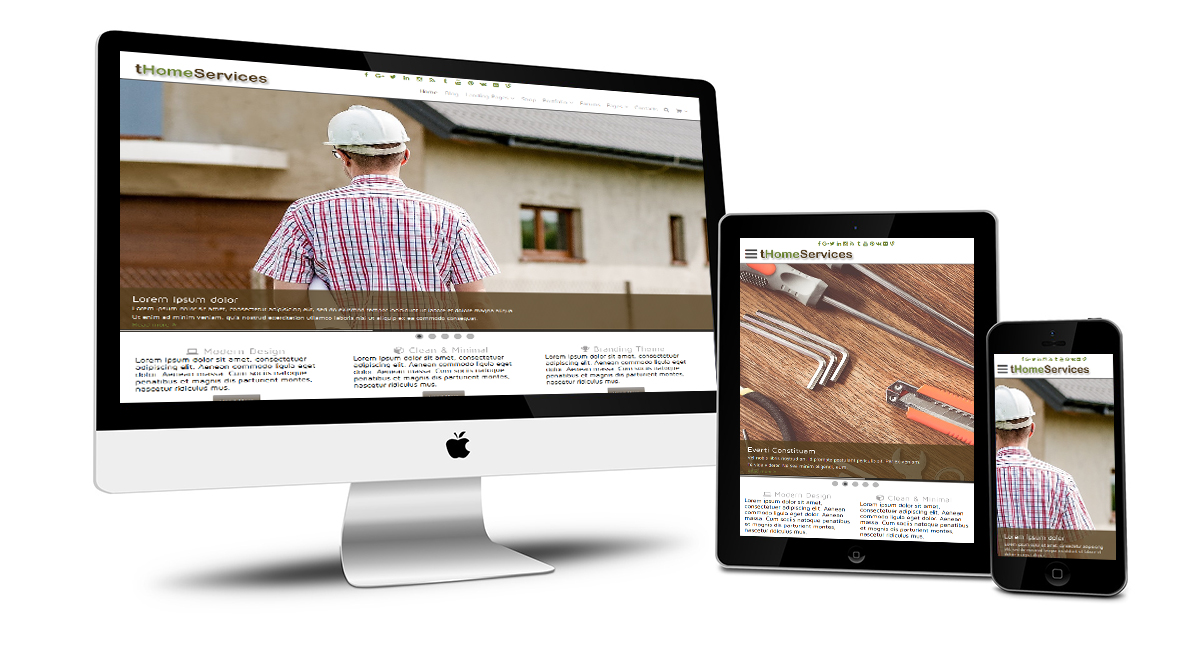 tHomeServices Responsive Design