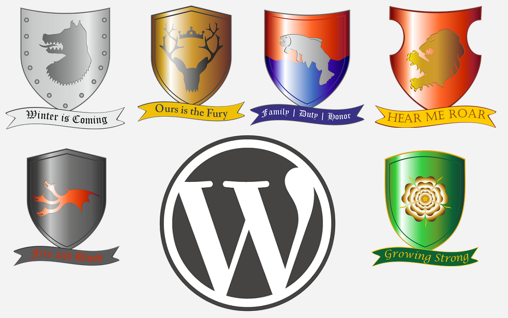 WordPress Game of Thrones