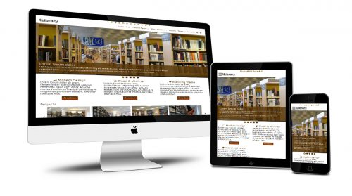 tLibrary Responsive Design