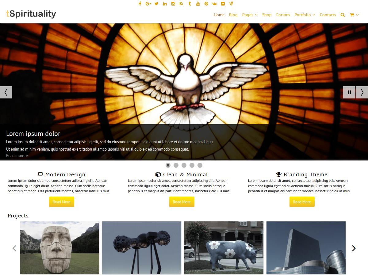 Spirituality Website