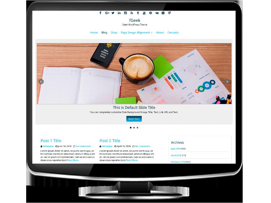 fGeek - Geek WordPress Theme
