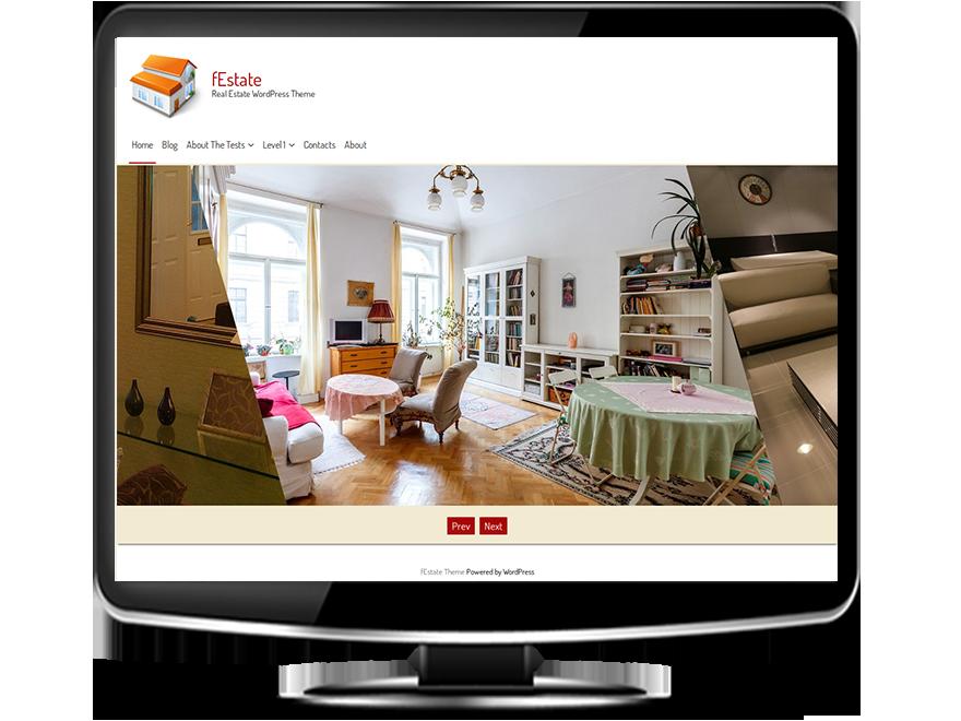 fEstate – Free Real Estate WordPress Theme – Tishonator