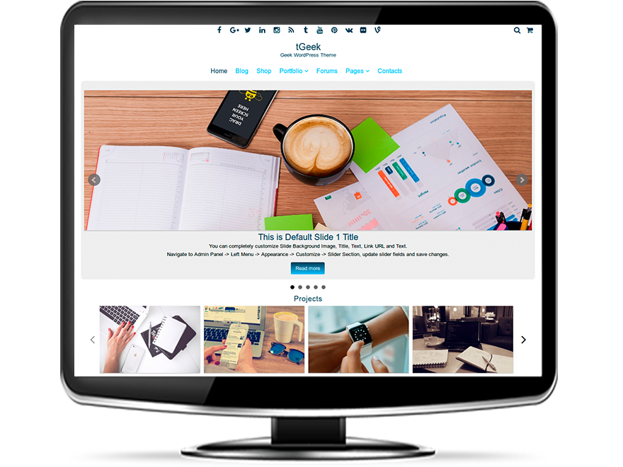 tGeek - Geek WordPress Theme