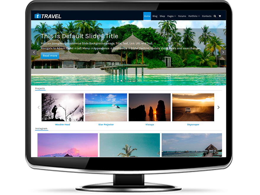 tTravel - Responsive Travel WordPress Theme