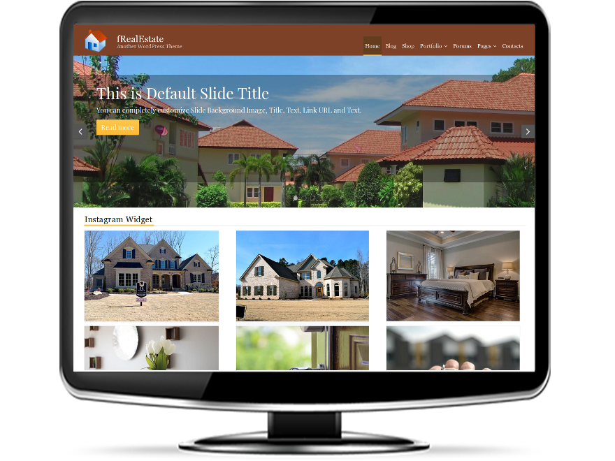 fRealEstate - Free Real Estate WordPress Theme