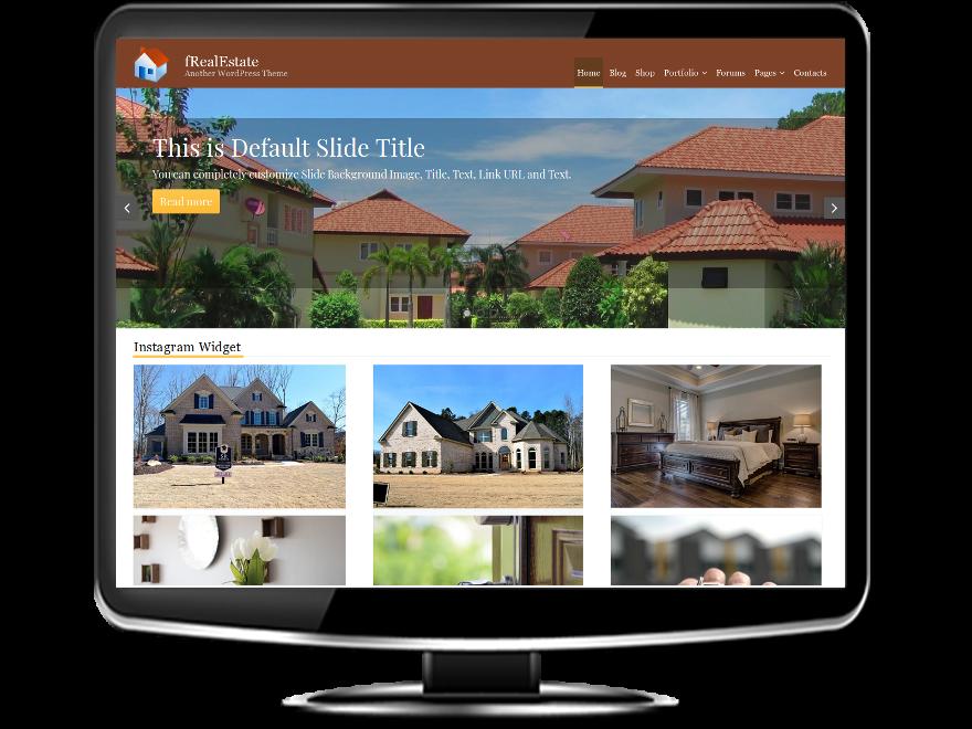 fRealEstate - Free Real Estate WordPress Theme