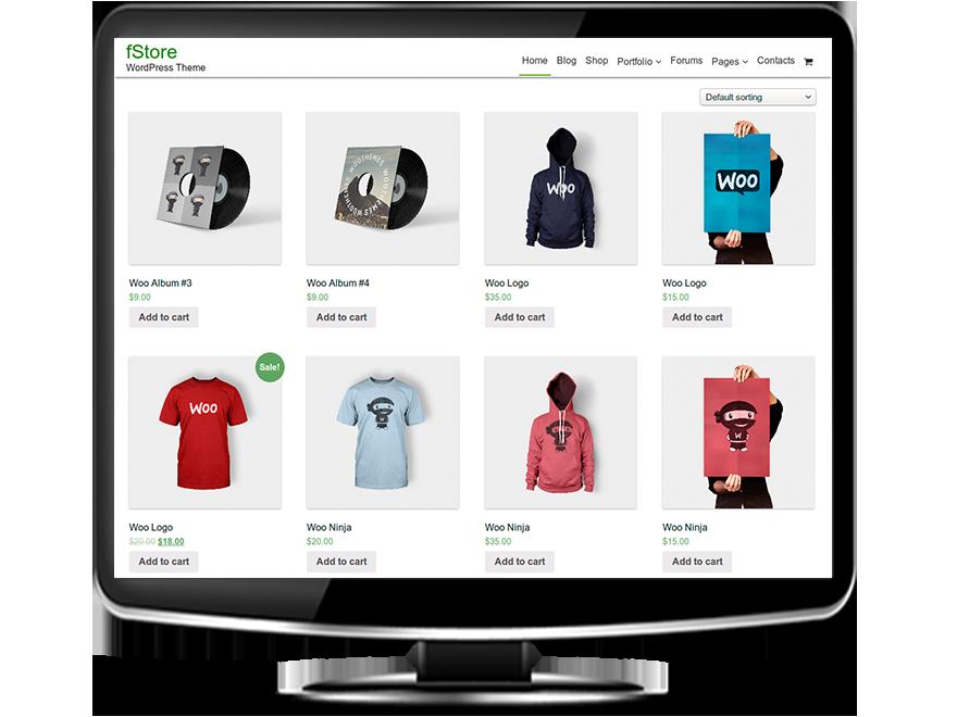 fStore - Free eCommerce WordPress Themes