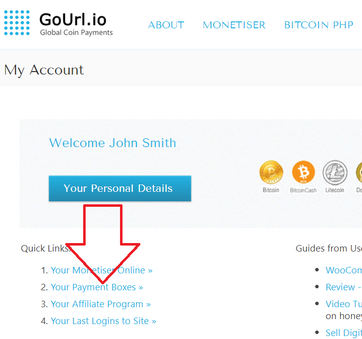 GoUrl Payment Boxes