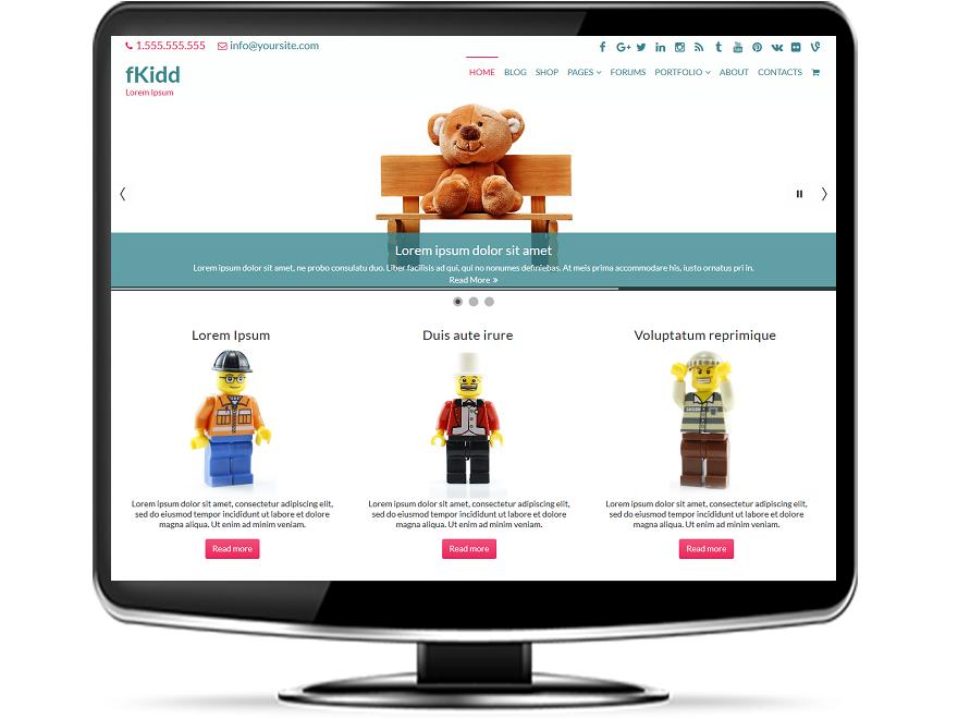 fKidd - Free Education WordPress Theme
