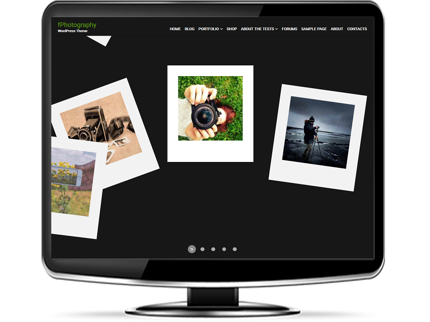 fPhotography - Free Photography WordPress Theme