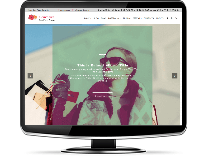 tCommerce - Premium Commerce WordPress Theme