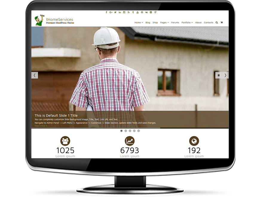 tHomeServices - Home Services WordPress Theme