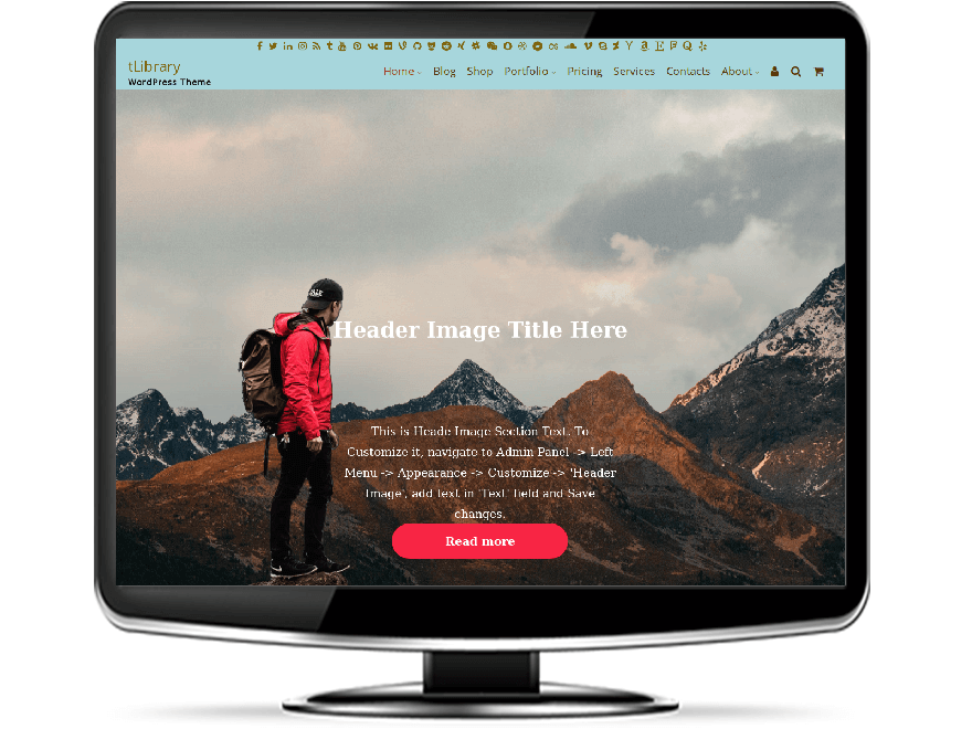 tLibrary - Premium Library WordPress Theme