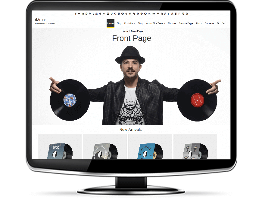 tMuzz - Premium Music WordPress Theme