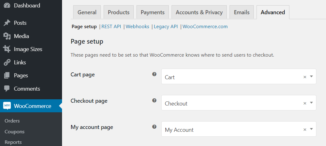 WooCommerce Advanced Settings